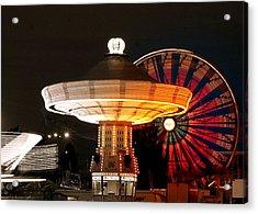 Fair Fun Acrylic Print by Scott Gould
