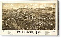 Antique Fair Haven, Vt. Acrylic Print