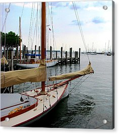 Fair Weather Annapolis  Acrylic Print