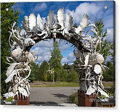 Fairbanks Arch Acrylic Print