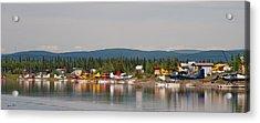 Fairbanks Float Pond  Acrylic Print