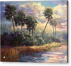Fairchild Gardens Acrylic Print