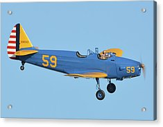 Fairchild Pt-19a N11cm Chino California April 29 2016 Acrylic Print by Brian Lockett