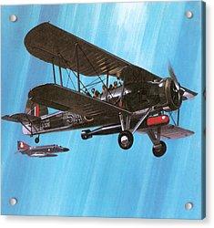 Fairey Swordfish Acrylic Print