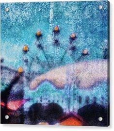 Fairground Innocence Acrylic Print by Andrew Paranavitana