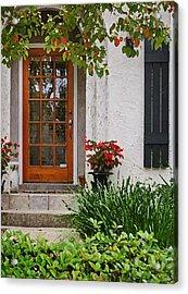Fairhope Doorway Acrylic Print by Michael Thomas
