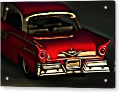 Fairlane 500 Acrylic Print by Jeff  Gettis