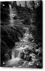 Fairmont Waterfall Acrylic Print