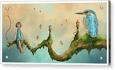 Fairy Chess Acrylic Print