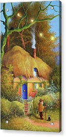 Fairy Cottage Acrylic Print