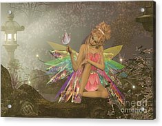 Fairy Dreams Acrylic Print by Corey Ford