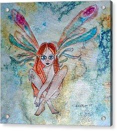 Fairy Dust Acrylic Print by Mickie Boothroyd