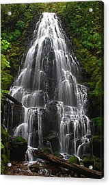 Fairy Falls Acrylic Print by Todd Kreuter
