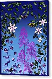 Fairy Garden By Tarra Light Acrylic Print by Robert Bissett