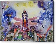 Fairy Garden  Acrylic Print