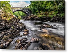 Fairy Glen Bridge Acrylic Print