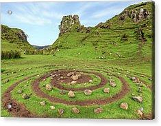 Fairy Glen - Isle Of Skye Acrylic Print