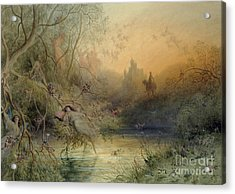 Fairy Land Acrylic Print by Gustave Dore