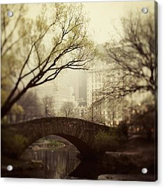 Fairy Of New York Acrylic Print by Irene Suchocki