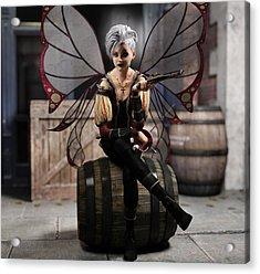 Fairy Piracy 1 Acrylic Print