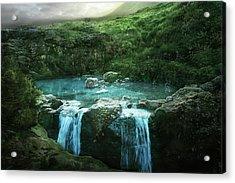 Fairy Pools  Acrylic Print