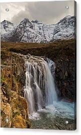 Fairy Pools Waterfall, Isle Of Skye Acrylic Print