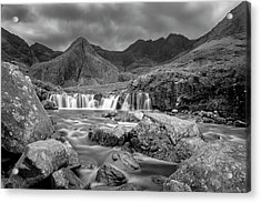 Fairy Pools Waterfall Acrylic Print