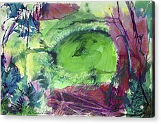Fairy Ring, Lasso Forest Acrylic Print