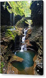 Fairy Tale Trail Acrylic Print by Adam Pender