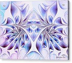 Acrylic Print featuring the digital art Fairy Wings by Jutta Maria Pusl