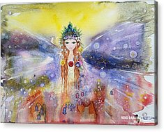 Fairy World Acrylic Print