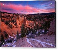 Acrylic Print featuring the photograph Fairyland Loop Trail by Edgars Erglis