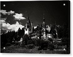 Fairytale Castle Acrylic Print by Gabriela Insuratelu