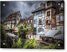 Fairytale Colmar, France Acrylic Print by Sandra Rugina