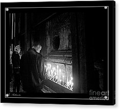 Acrylic Print featuring the photograph Faith 2 by Arik Baltinester