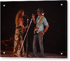 Faith And Tim Sing Acrylic Print by Bobby Miranda