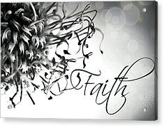 Acrylic Print featuring the photograph Faith by Bobby Villapando