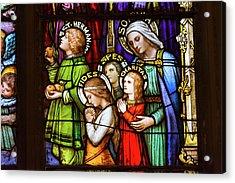 Faith, Hope, And Charity Acrylic Print