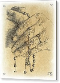 Faith Never Grows Old Acrylic Print by Conor OBrien