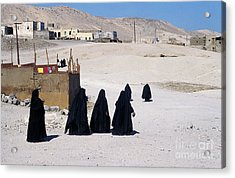 Faith Past And Present - Mourners Acrylic Print