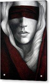 Faith Acrylic Print by Pat Erickson
