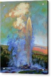 Faithful Acrylic Print by Carol Strickland