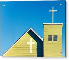 Faithfully Simple Acrylic Print by Todd Klassy