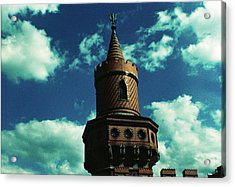 Fake German Castle Or Oberbaumbruecke Acrylic Print