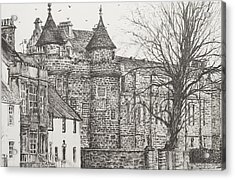 Falkland Palace Acrylic Print by Vincent Alexander Booth