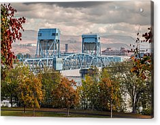 Fall 2015 Blue Bridge Acrylic Print