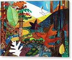 Fall Along The Patuxent Acrylic Print