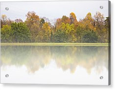 Acrylic Print featuring the photograph Fall And Fog by Ben Shields
