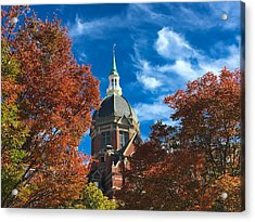 Fall And The Dome Acrylic Print