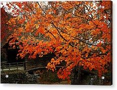 Fall At Humpback Bridge Acrylic Print